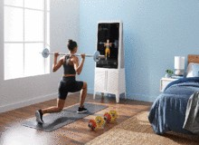 Tempo reveals $17M-funded $2000 weight lift training screen