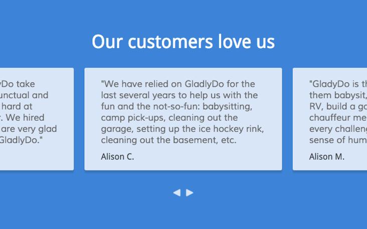 GladlyDo | AngelList