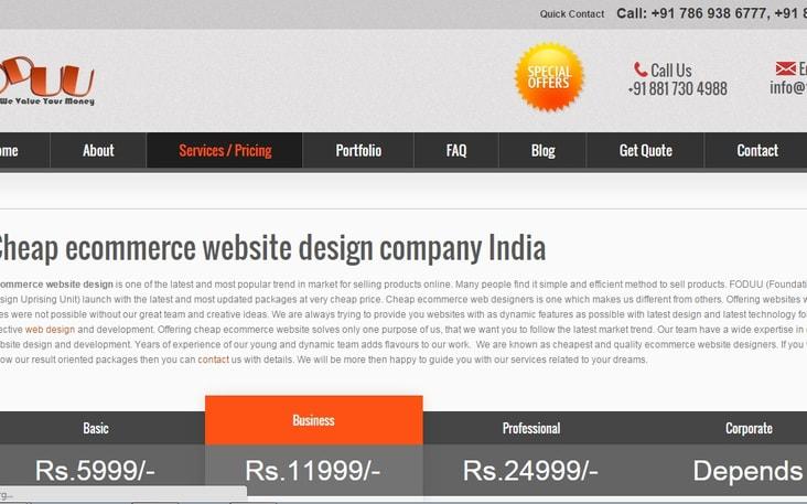 Foduu Web Design Company India Angellist