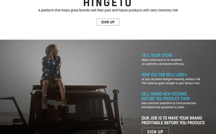 Hingeto | AngelList