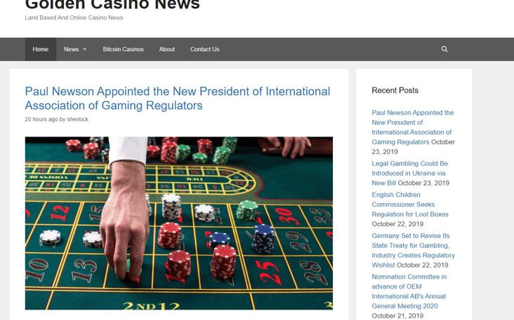 Golden Casino News Angellist Talent
